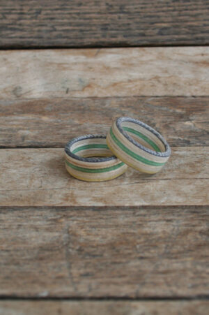 Wooden Skateboard Rings