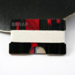 Wallets made from recycled snowboards