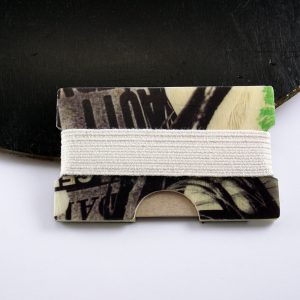 Snowboard Wallet (Black and Green)
