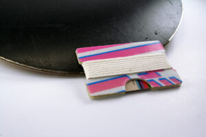Snowboard Wallet (Pink and Blue)