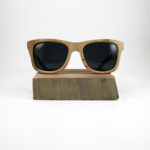 Recycled Wooden Skateboard Sunglasses (Blue)