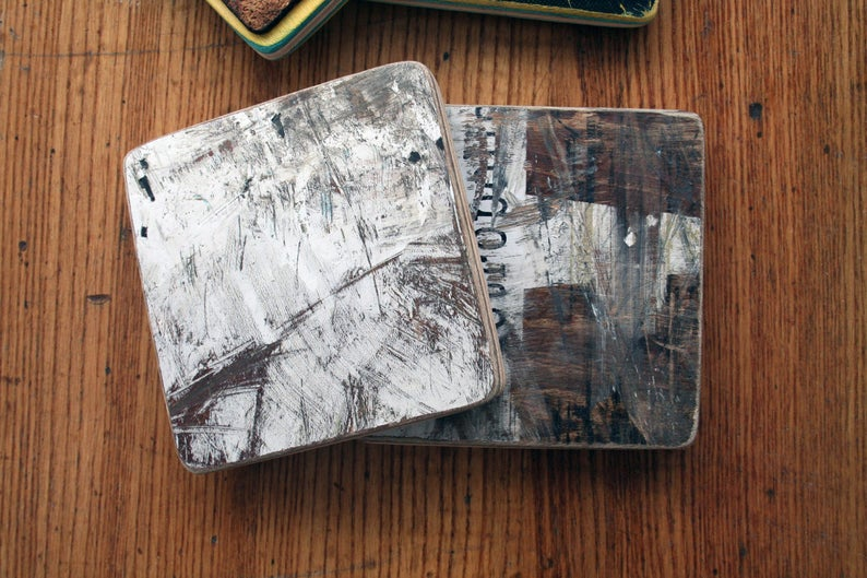 Coasters (100% recycled skateboards)