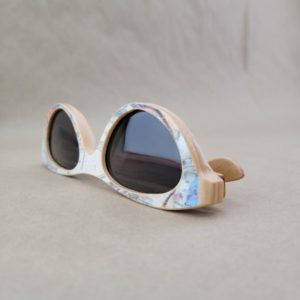 Recycled Wooden Skateboard Sunglasses (Cat eye style)